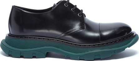 Alexander McQueen Chunky outsole leather Derbies