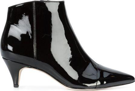 Sam Edelman varnished pointed boots