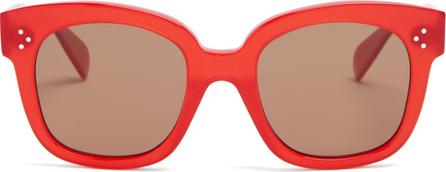 Celine Squared-frame acetate sunglasses