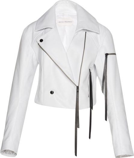 Olivier Theyskens Double-Breasted Biker Jacket