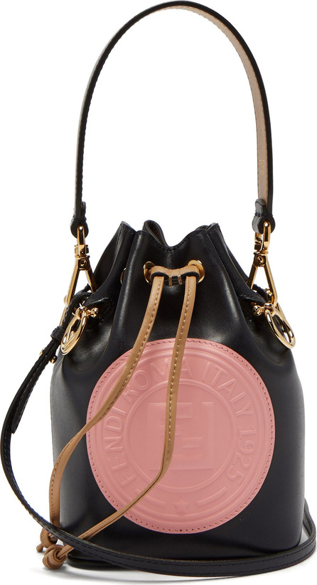 Fendi Mon Tresor leather mini bucket bag