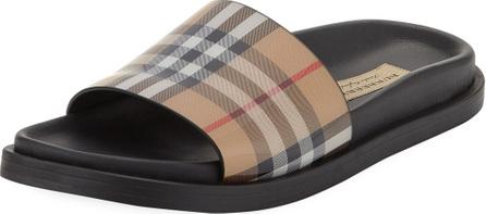 Burberry London England English Icons Vintage Check Slide Sandal