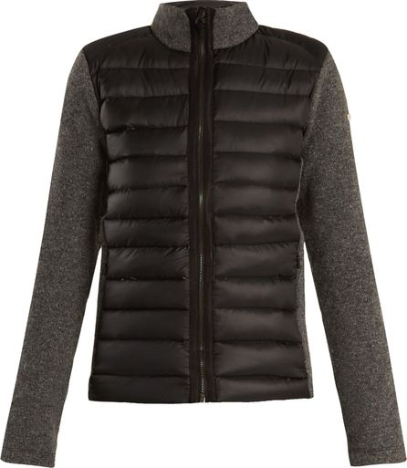 Capranea Closer contrast-panel down performance jacket