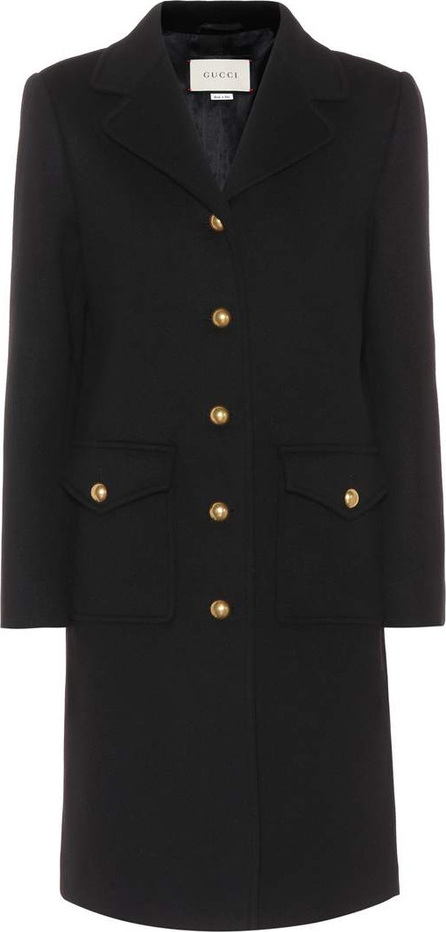 Gucci Double G wool coat