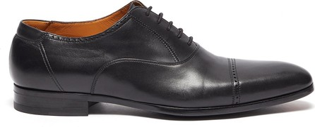 MAGNANNI 'Austin' perforated leather oxford shoes