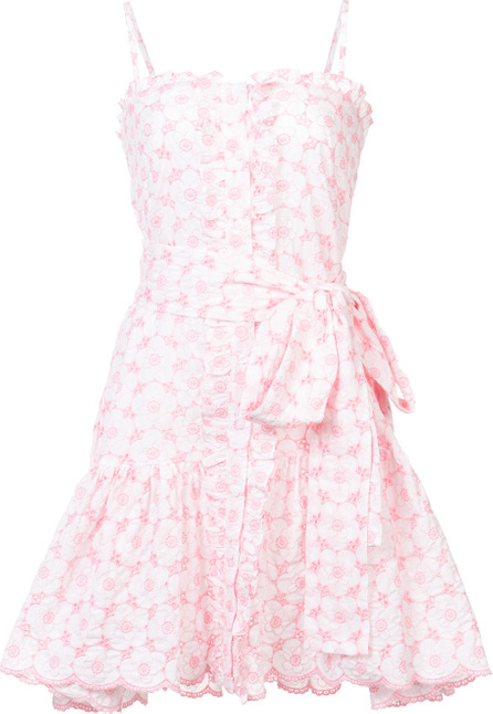 Lisa Marie Fernandez Ruffle mini slip dress