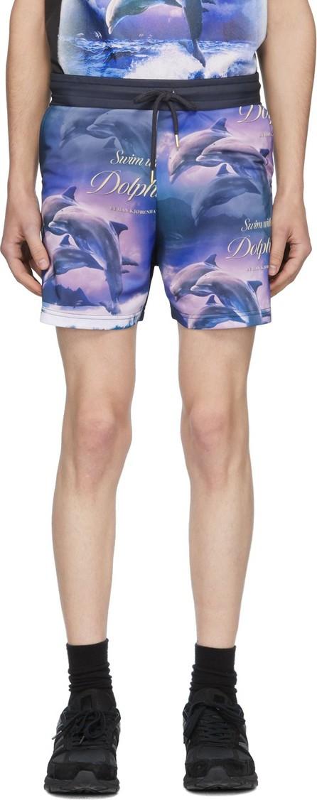 Han Kjobenhavn Black 'Swim With Dolphins' Swim Shorts