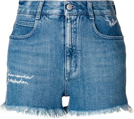Stella McCartney Distressed style shorts