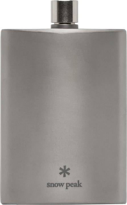 Snow Peak Silver Titanium Flask