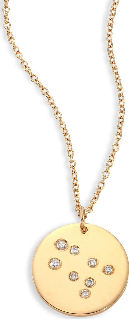 Bare Constellations Gemini Diamond & 18K Yellow Gold Pendant Necklace