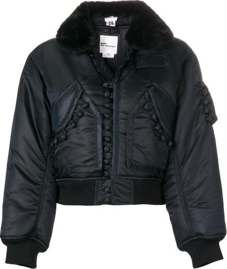 Comme Des Garçons Noir Kei Ninomiya Buttoned bomber jacket