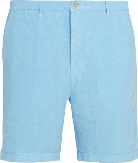 120% Lino Slim-fit linen shorts
