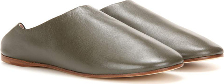 Acne Studios Agata leather slippers