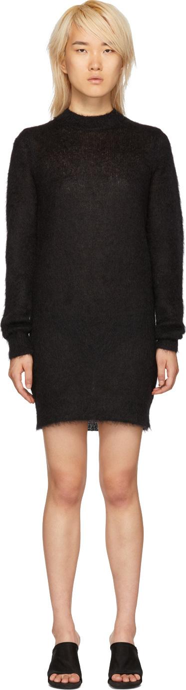 Alyx Black Mohair Stevie Dress