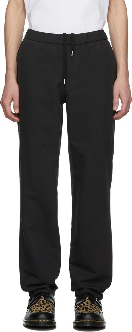 Schnayderman's Black Wool Twill Trousers