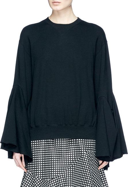 FACETASM Ruffle sleeve sweatshirt