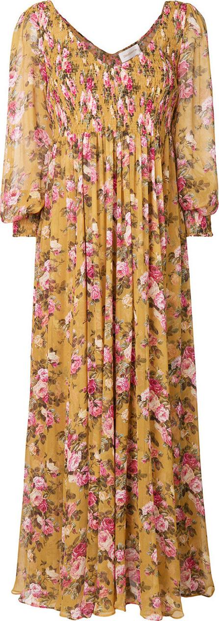 Zimmermann Floral flared long dress