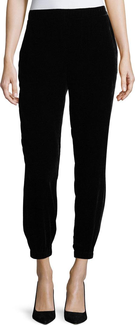 Eileen Fisher Slouchy Velvet Ankle Pants, Petite