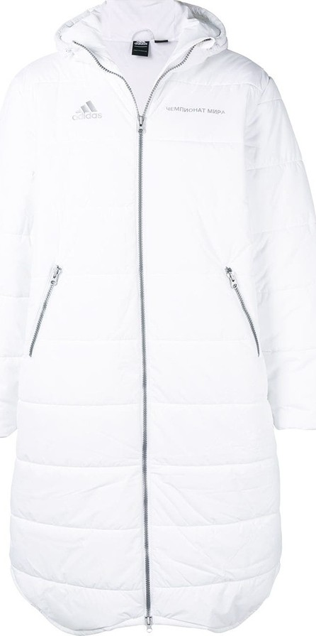 Gosha Rubchinskiy Gosha Rubchinskiy x Adidas oversized padded coat
