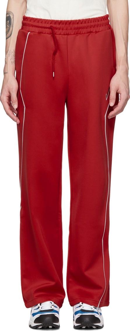 ADER error Red Thunder Track Pants