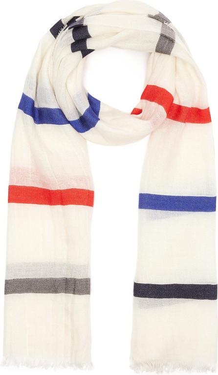 Franco Ferrari 'Daiquiri' contrast stripe scarf