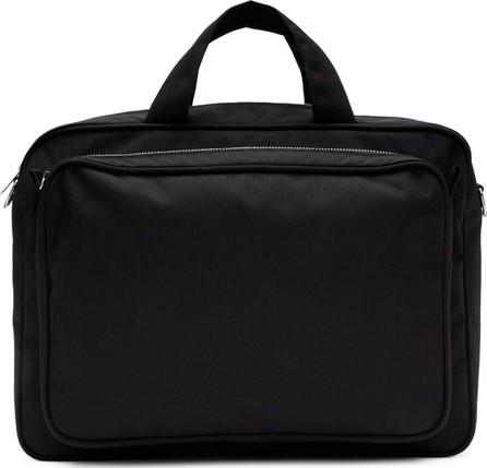 Comme des Garçons Homme Deux Black Large Zip Briefcase