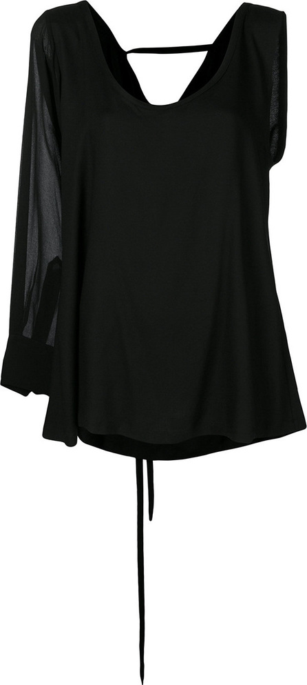Ann Demeulemeester One shoulder blouse