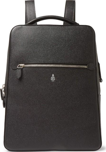 Mark Cross Alexander Cross-Grain Leather Backpack