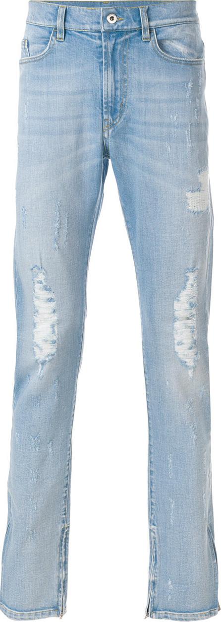 Mjb Distressed straight-leg jeans
