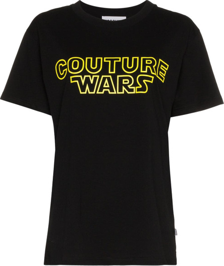 Moschino Couture Wars logo cotton t shirt