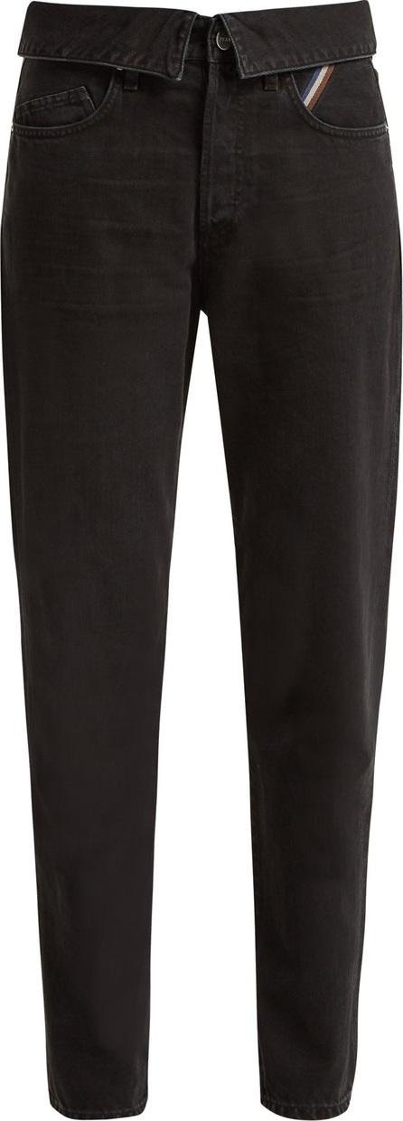Jean Atelier Flip fold-over jeans