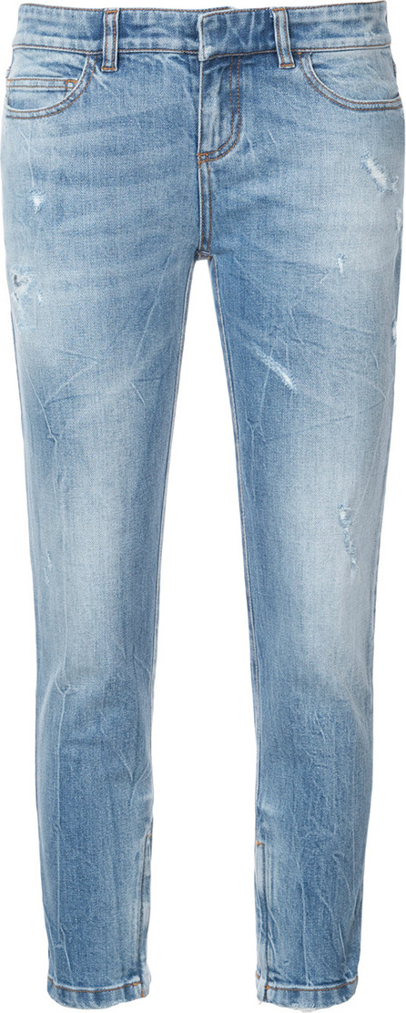 Faith Connexion Cropped skinny-fit jeans