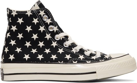 Converse Black & White Chuck 70 Archive Restructured High Top Sneakers