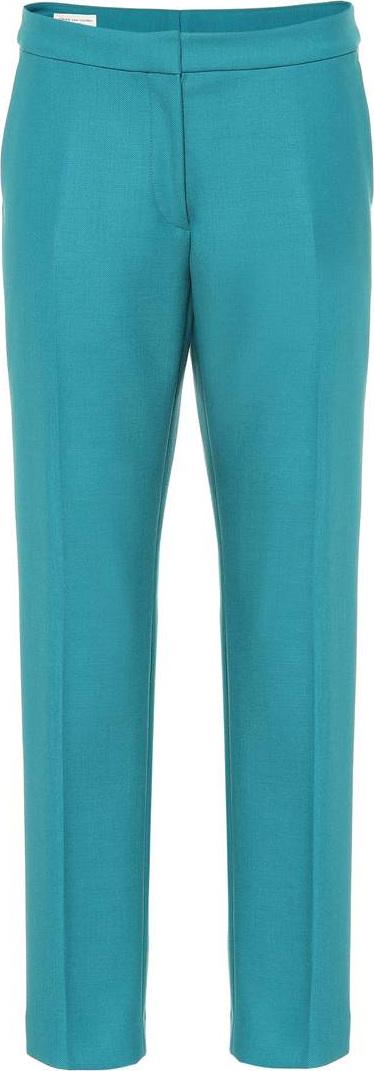Dries Van Noten Wool-blend pants