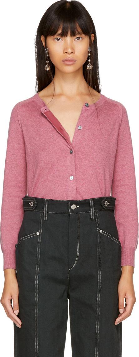Isabel Marant Etoile Pink Napoli Cardigan