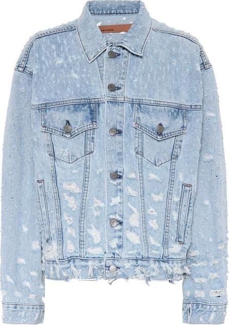 Grlfrnd Distressed denim jacket