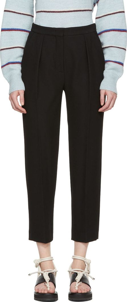 See By Chloé Black Fluid Trousers
