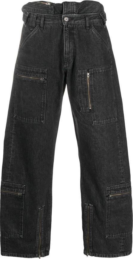 Y/Project Oversized multi-pocket jeans