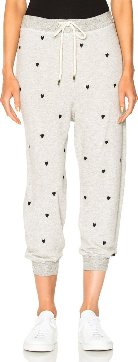 THE GREAT. Cropped Sweatpant