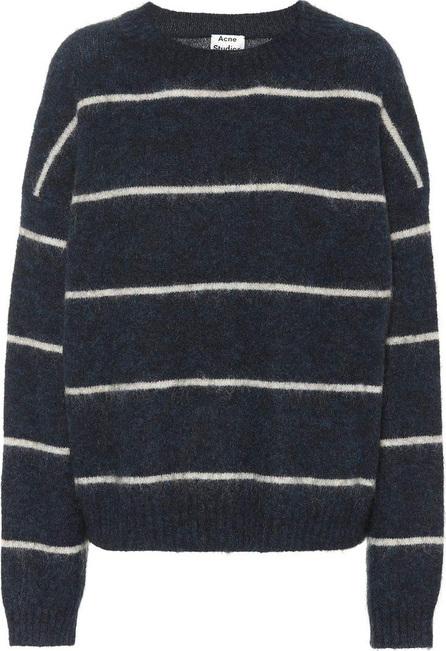 Acne Studios Rhira striped mohair-blend sweater