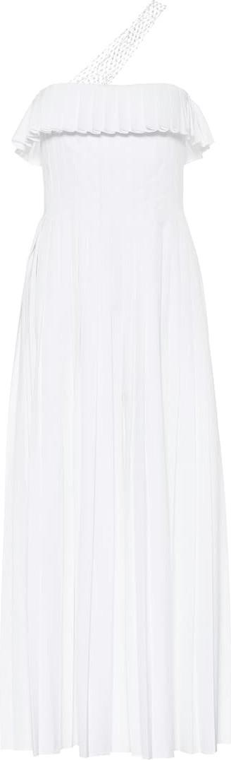 Gabriela Hearst Perse cotton midi dress