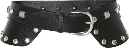 Isabel Marant Tricy embellished leather belt