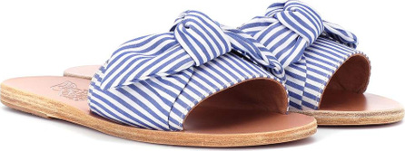Ancient Greek Sandals Taygete Bow striped sandals