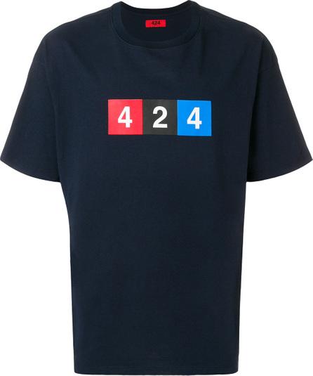 424 Fairfax Logo print T-shirt