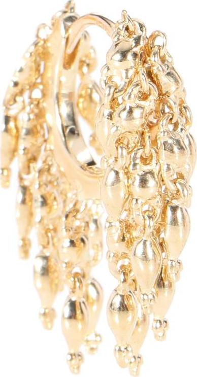 Maria Tash Tassel Eternity 14kt gold earring