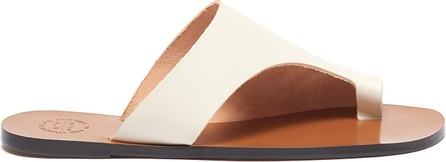 ATP Atelier 'Rosa' toe ring leather slide sandals