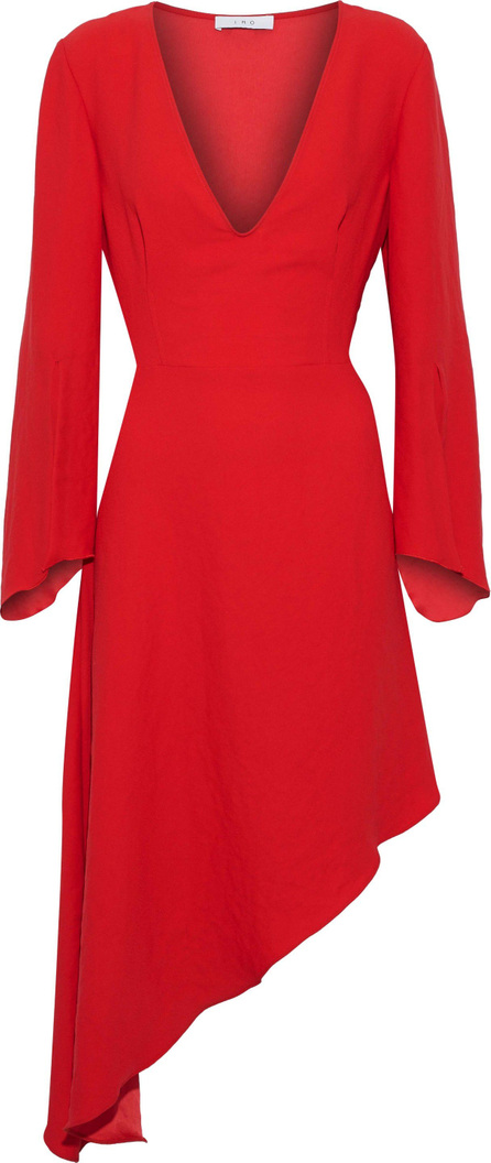 IRO Hervey asymmetric crepe dress