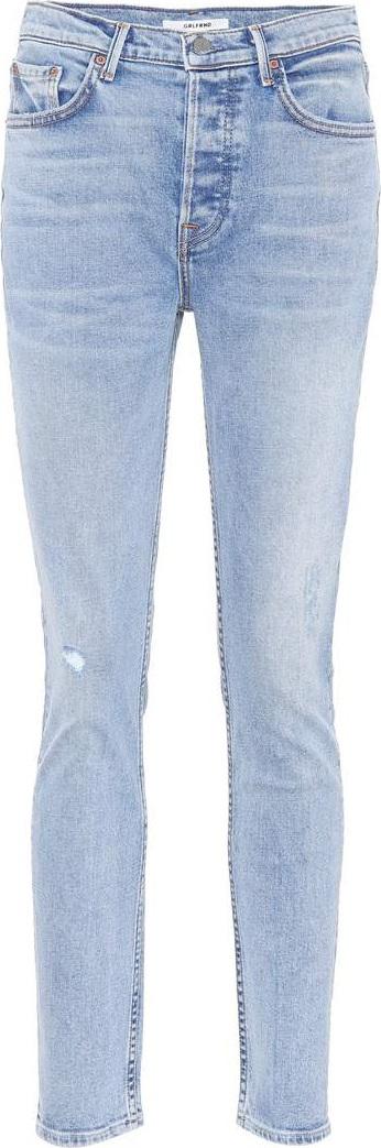 Grlfrnd Karolina high-waisted skinny jeans