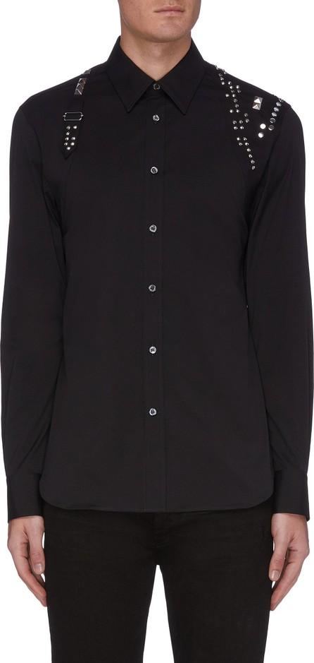Alexander McQueen Harness Stud Embellished Shirt