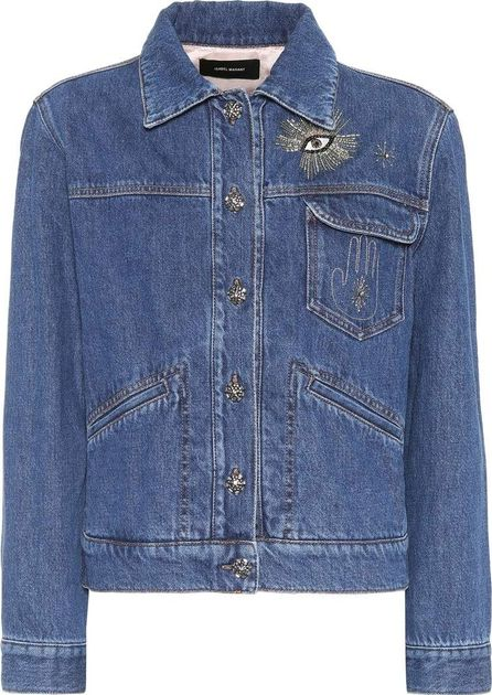 Isabel Marant Ensley embellished denim jacket